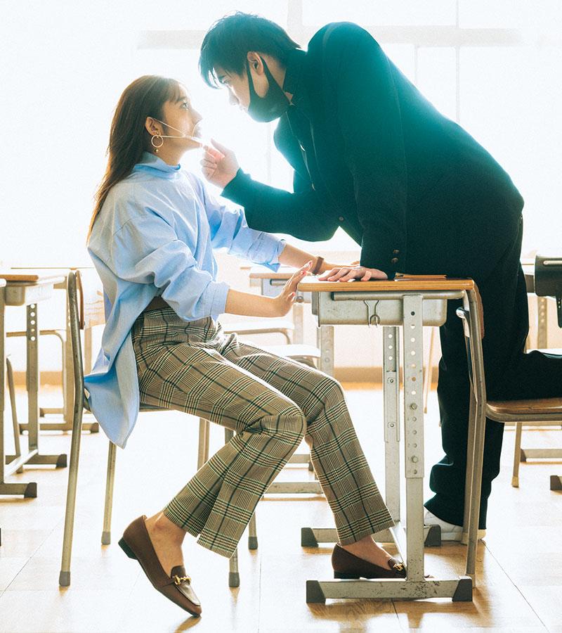 【桜井玲香】シャツをゆるっとオシャレに着る【今日の着回しDiary】