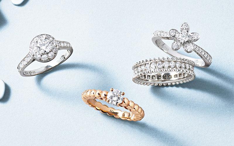 アラサー女子の憧れジュエラーの結婚指輪【ヴァンクリ&ブシュロン】