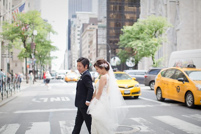 今回はニューヨークで行った挙式