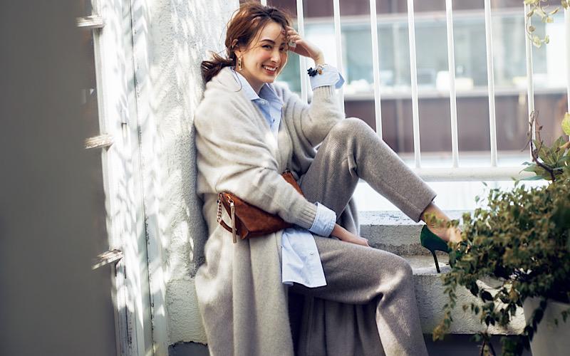 【今日の服装】トレンドの「ロングカーデ」を通勤で使いこなすには?【アラサー女子】