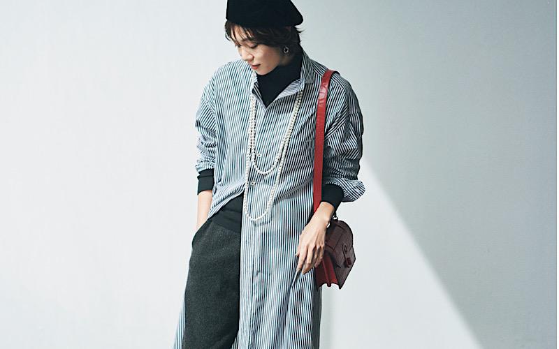 【今日の服装】体型カバーできる「ニットパンツコーデ」って?【アラサー女子】