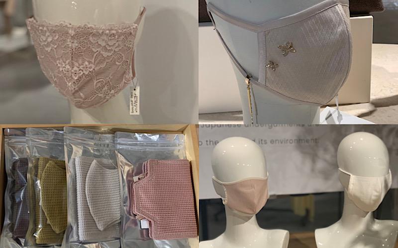【展示会で発見】人気アパレルブランドの「オシャレなマスク」