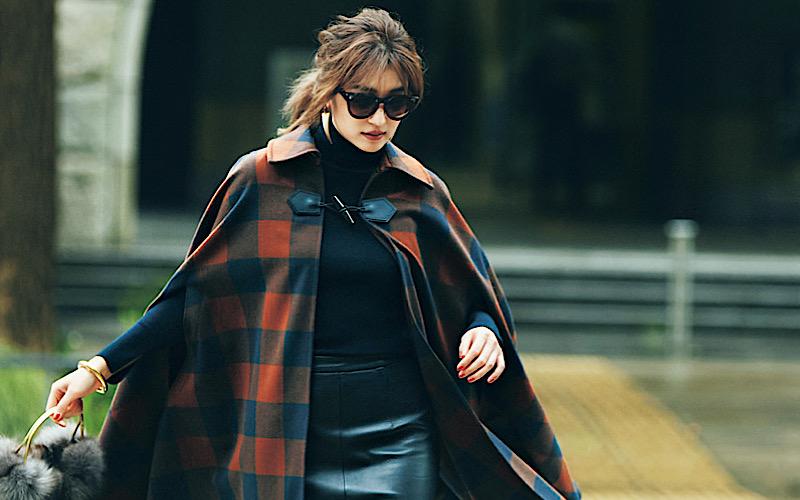 【今日の服装】女っぽく着こなす「レザーコーデ」、正解は?【アラサー女子】