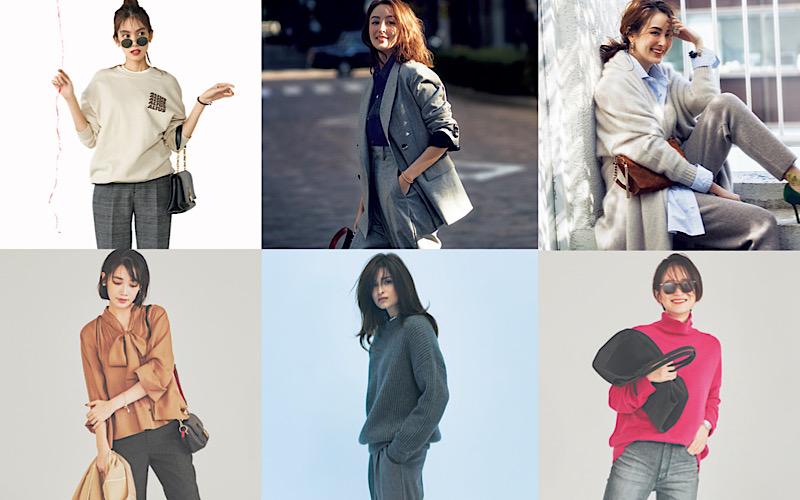 アラサー女子が簡単上品な着こなしに!「グレーパンツ」コーデ6選