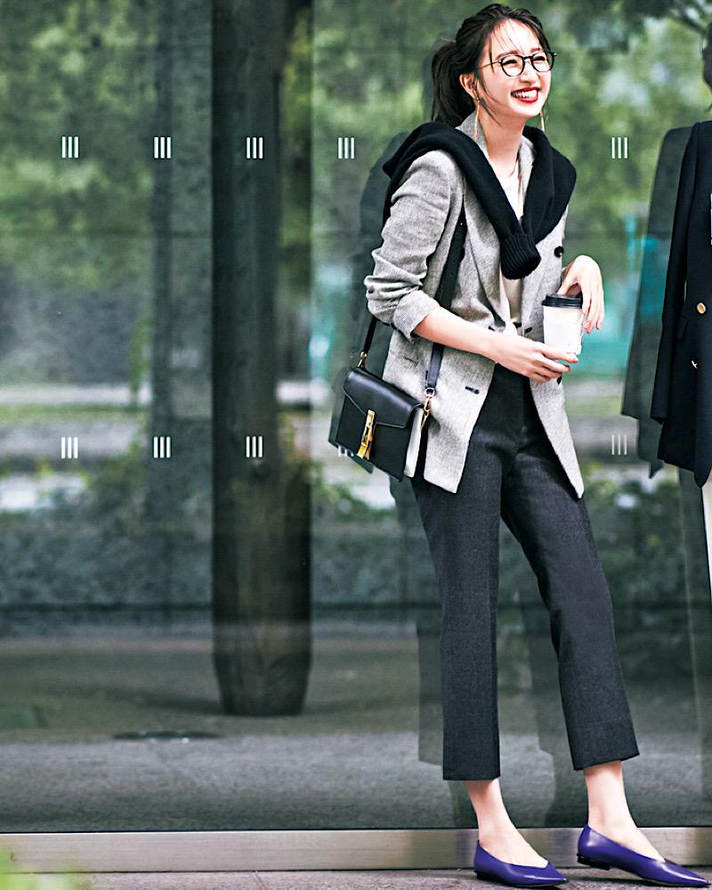 【今日の服装】定番「ジャケットコーデ」で周りと差をつけるなら?【アラサー女子】