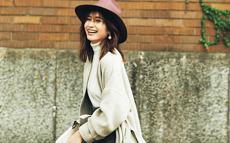 【今日の服装】ロング丈コートの今年っぽい合わせ方って?【アラサー女子】