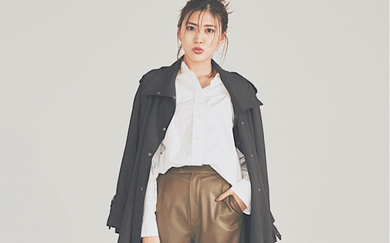 【今日の服装】今っぽい「シャツ×パンツ」コーデは?【アラサー女子】