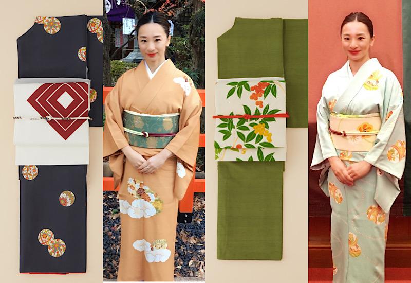 人気スタイリスト・乾千恵さんは「着物コーデ」もオシャレすぎる!