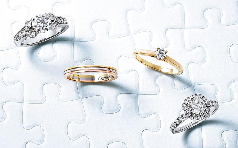 アラサー女子の憧れジュエラーの結婚指輪【カルティエ&ブルガリ】