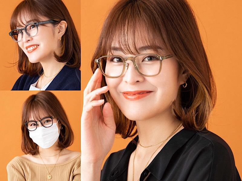 顔型別・いちばんオシャレに似合うメガネ3選【①面長さん】