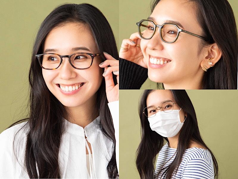 顔型別・いちばんオシャレに似合うメガネ3選【③丸顔さん】