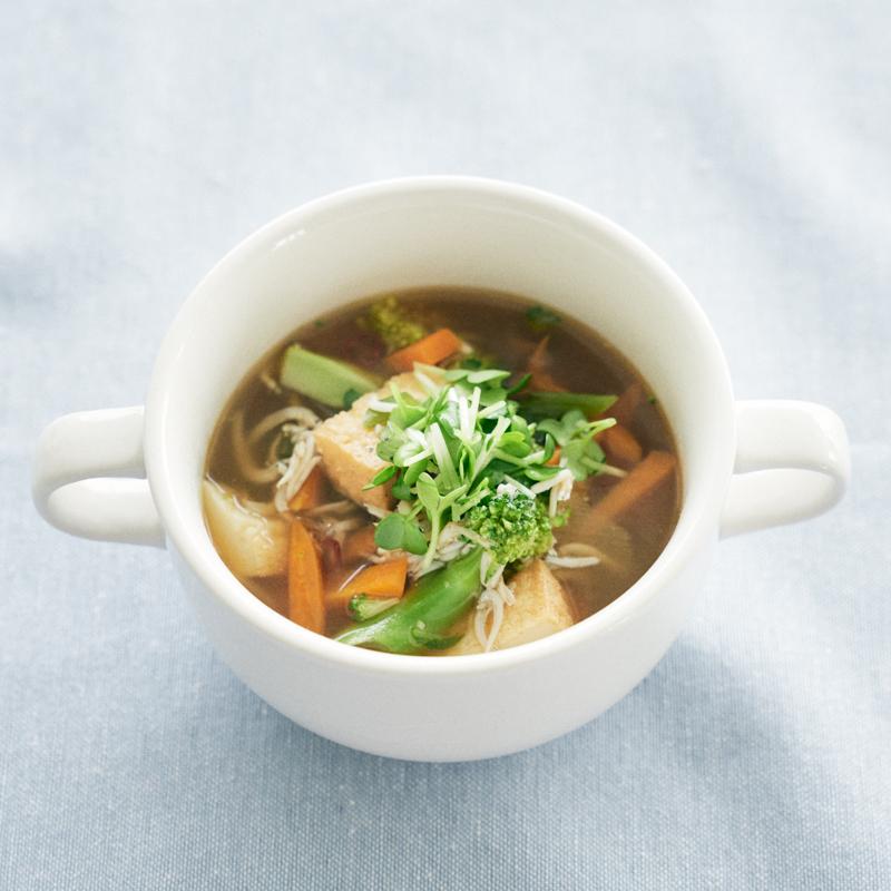 保湿に必要な栄養素をスープで補