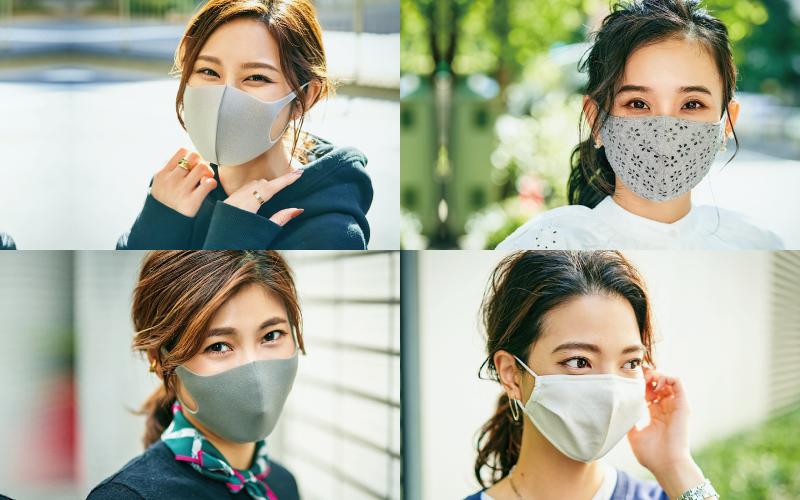 オシャレアラサー美女のマスクSNAP「グレーマスク編」【2020年11月】