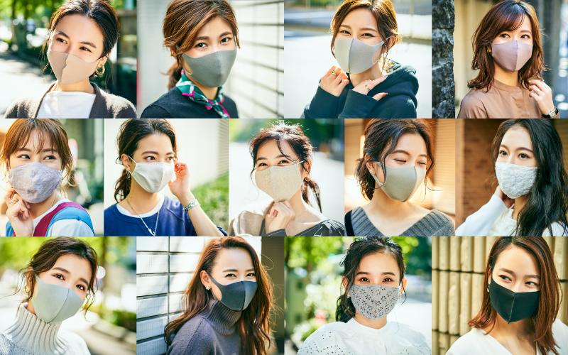 街で発見!アラサーマスク美女13名の素顔【東京マスク美女スナップ vol.3】2020年11月