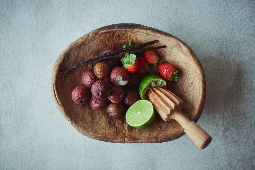 ミルキーな味わいとイチゴの組み