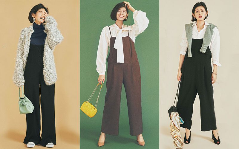 アラサー女子にちょうどいい「使いやすいサロペット」|ブランド、コーデ例、選び方…