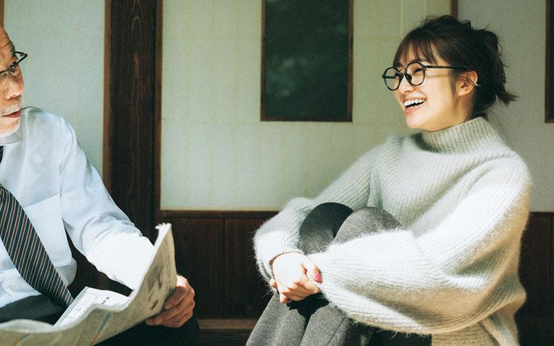 【桜井玲香】ゆるニットにニットパンツが旬【今日の着回しDiary】