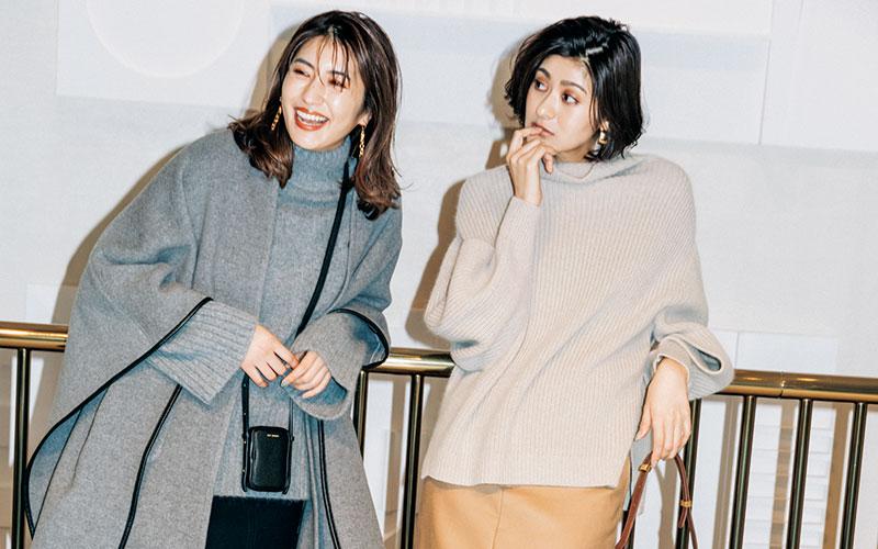 アラサー女子の2020年冬「ブーツ」の合わせ方【黒ショート&ロングブーツ】