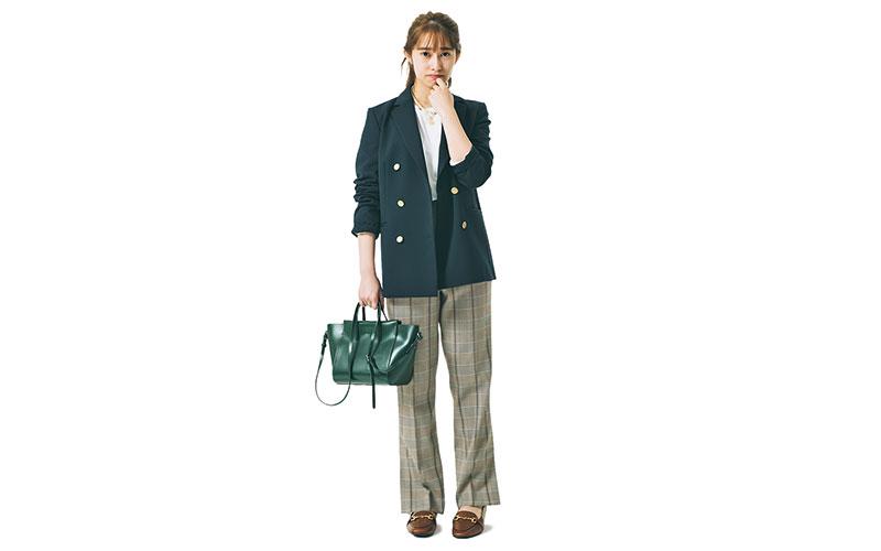 【桜井玲香】大きめジャケットで上品に【今日の着回しDiary】