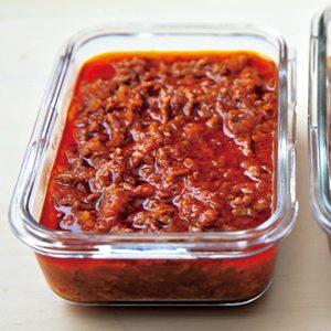 おすすめ作り置きおかず①「肉汁ミートソース」