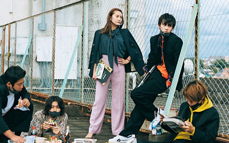 【桜井玲香】毎日パンツ派の「1カ月着回しDiary」【❶11/1〜11/10編】