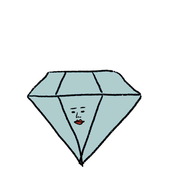存分にダイヤモンドに輝いてほし