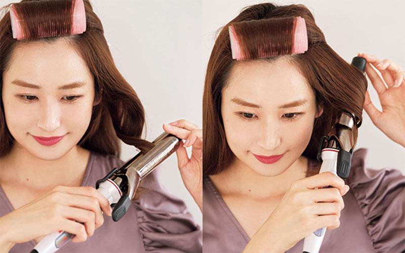 1.前髪の立ち上がり 前髪を立