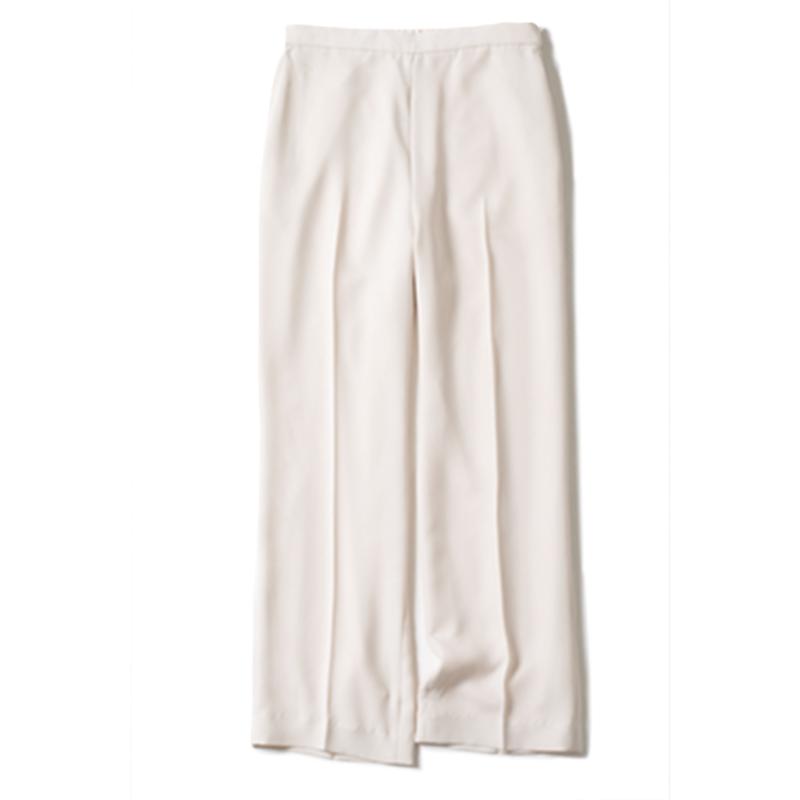 【E】白パンツ ホワイトパンツ¥15,400(ELENDEEK)
