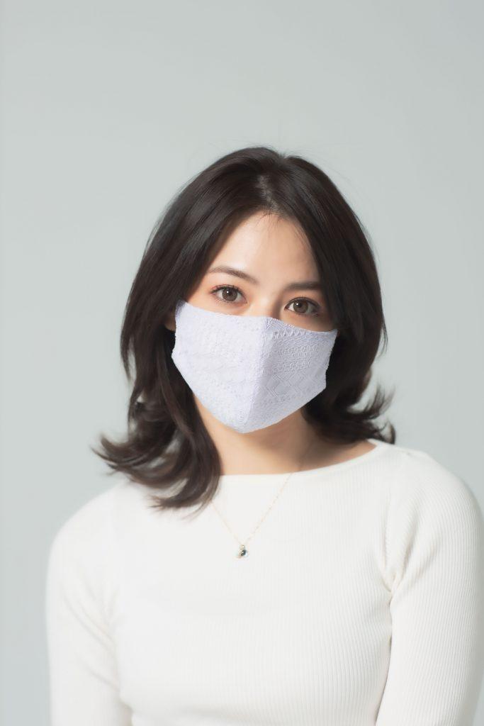 「このマスクは、サイドまで顔を