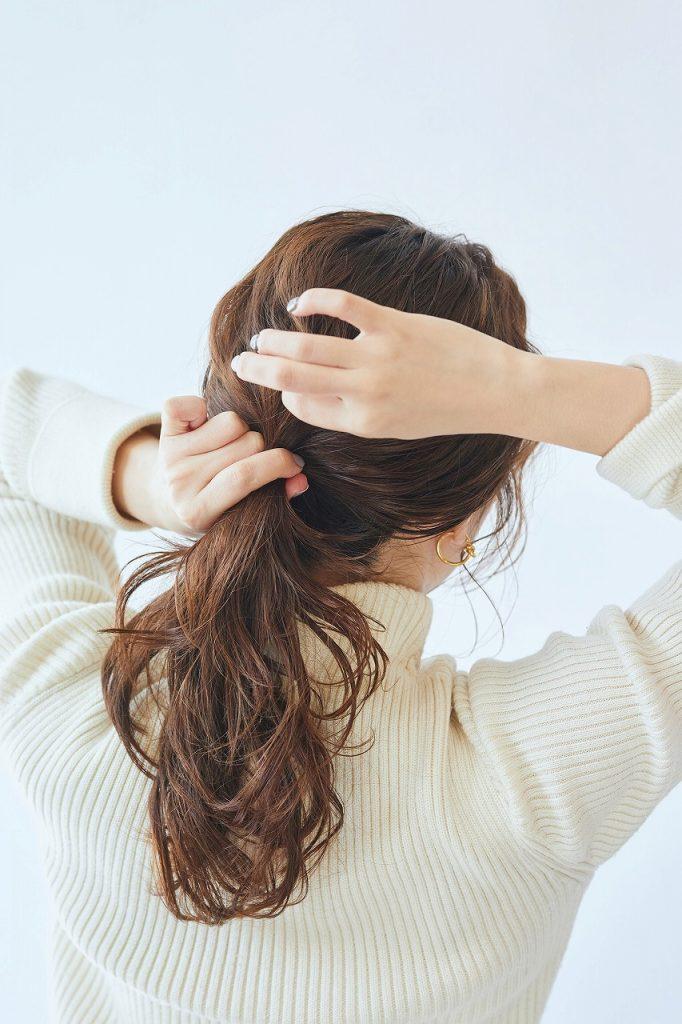 「いつもヘアアレンジが可愛い!
