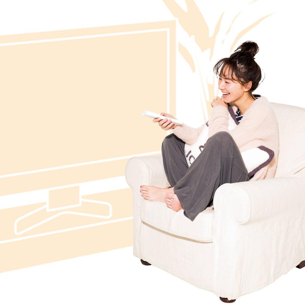 テレビを観ながら行うのは、リン
