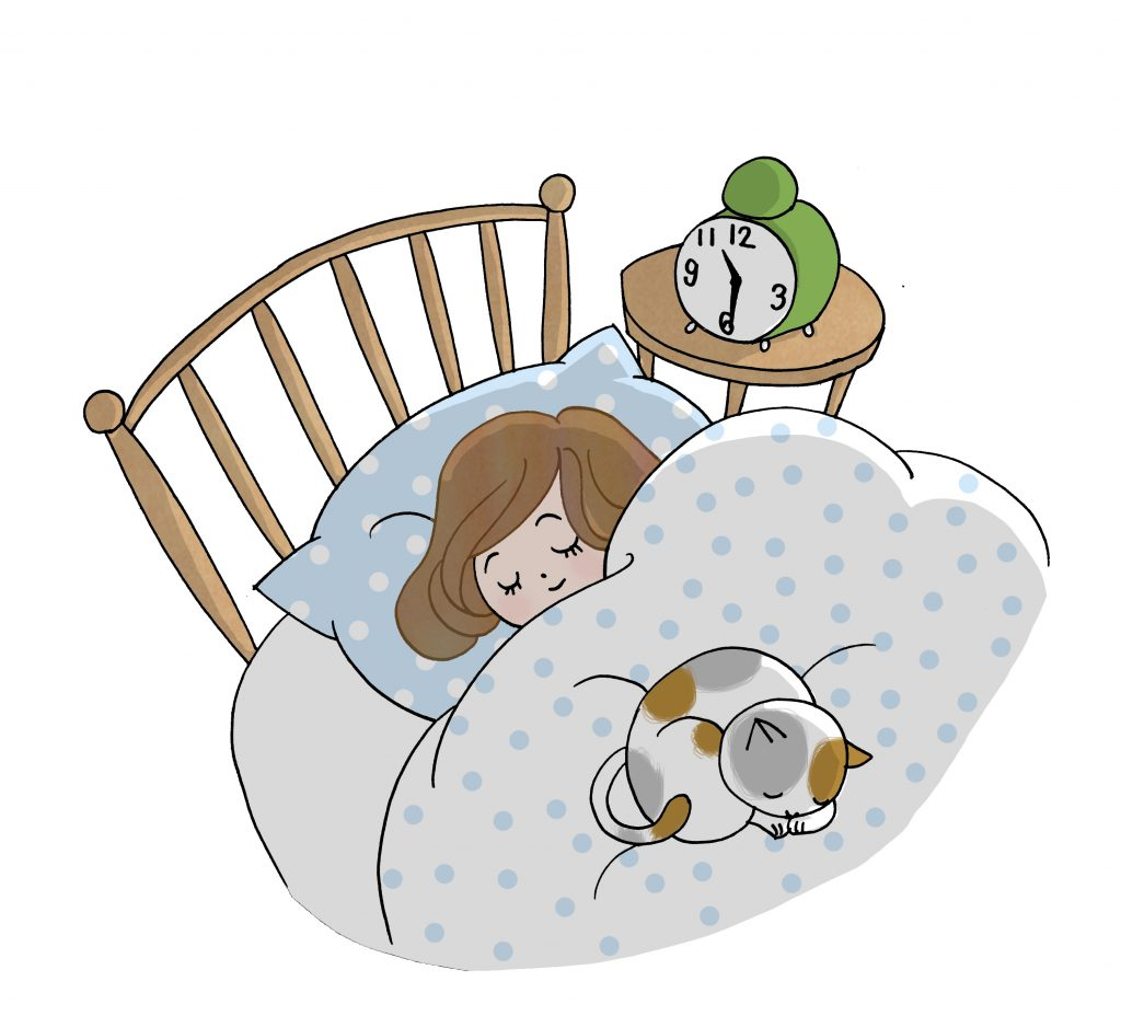 東洋医学の考え方では寝ている間