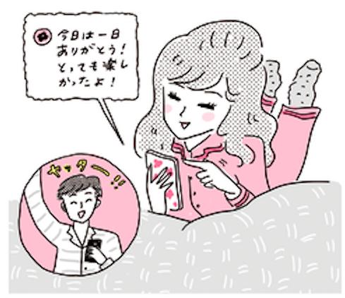 雑誌の恋愛特集やネット記事、女