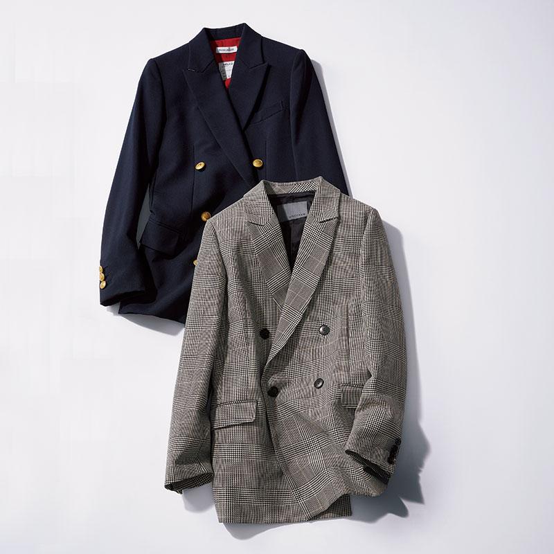 チェックジャケット¥26,000(アンクレイヴ)