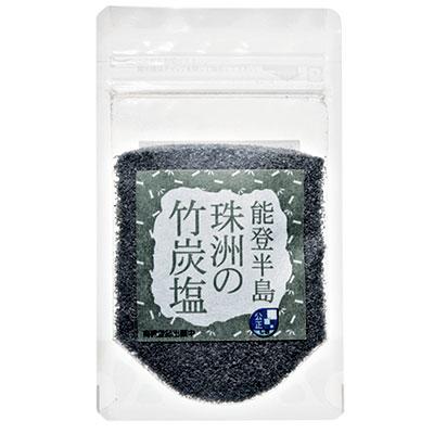 球洲の竹炭塩50g¥398(新海塩産業)