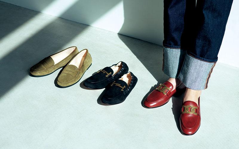 アラサー女子の「憧れブランド靴」【トッズ&フェラガモ&サンローラン】