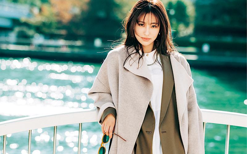 【今日の服装】「ジャケット×ロングコート」をオシャレに見せるには?【アラサー女子】