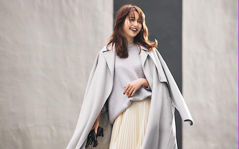 【今日の服装】「ロングコート」をもっと女らしく着るなら?【アラサー女子】