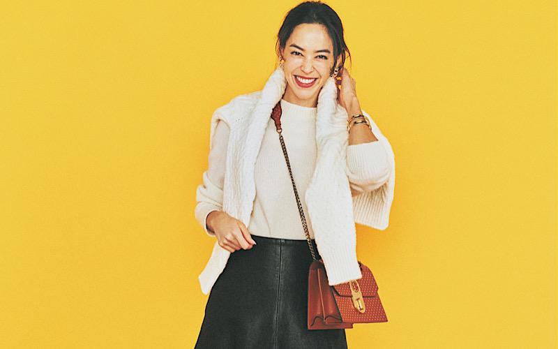 【今日の服装】旬のアイテム「レザースカート」を着るなら?【アラサー女子】