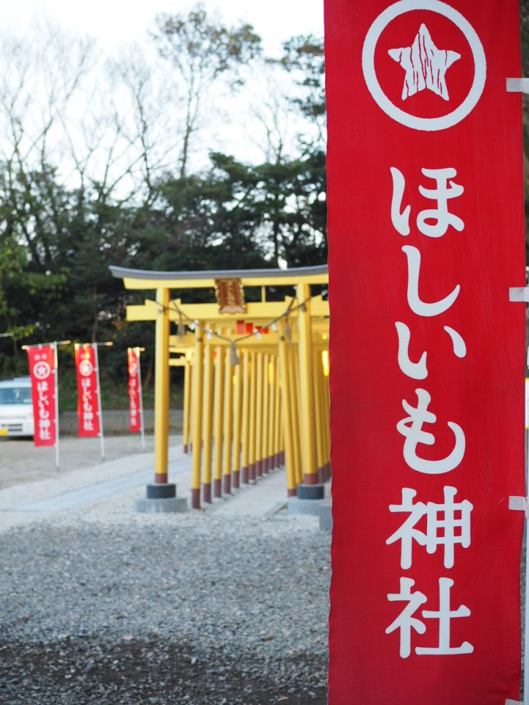 ほしいもの生産量日本一の茨城県
