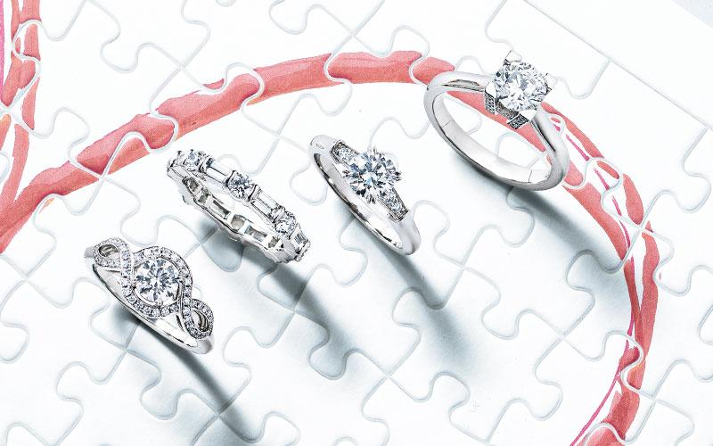 アラサー女子の憧れジュエラーの結婚指輪【ハリーウィンストン&グラフ】