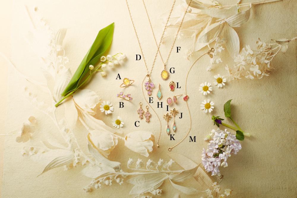それは咲き誇る花の薫りと色彩美