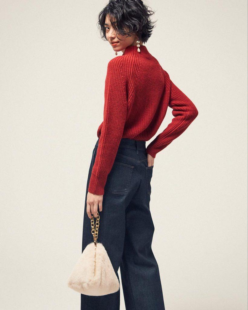 ときおり無性に惹かれる赤い服。