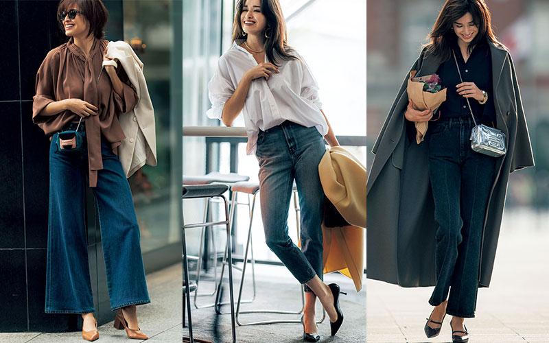 アラサー女子がデニムを「安っぽく見えない」ように着る方法3つ