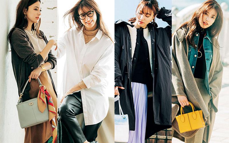 2020年冬「オシャレに見えやすい重ね着テク」7選【大人女子】