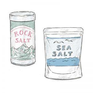 """精製塩と""""塩""""の違い、知っていますか?"""