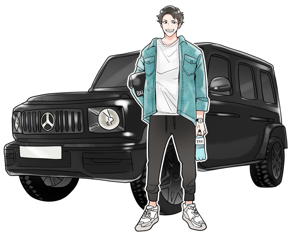 "A子「""車と東京男子""と言えば"