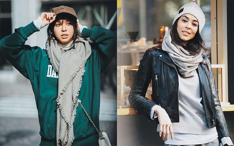 アラサー女子に2021年おすすめの「帽子&巻き物」2つ【後編】