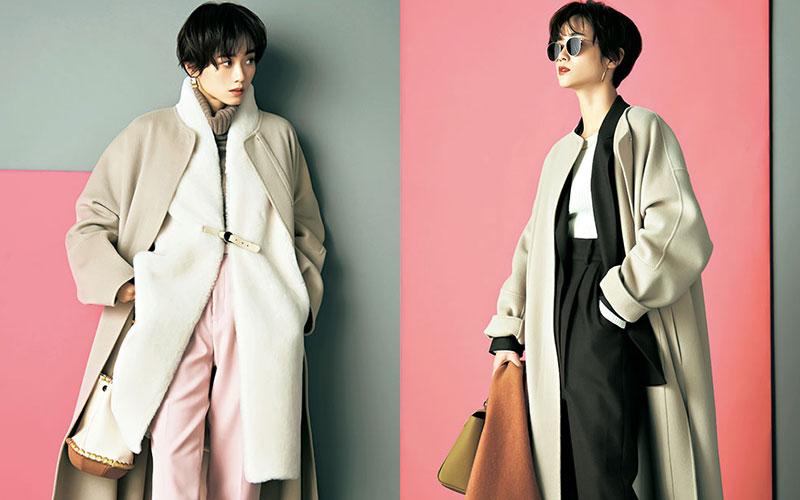薄手のコートで冬を乗り切る「重ね着アイディア」10選【前編】