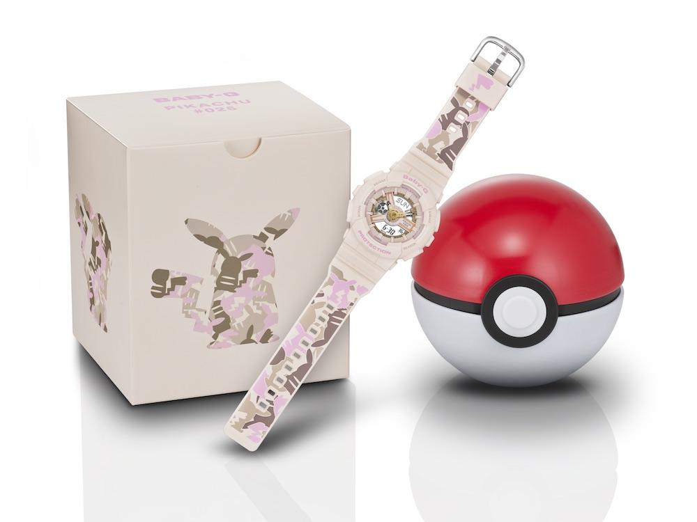 BABY-Gとポケモン「ピカチュウ」がコラボ!可愛い腕時計が発売